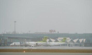 В Рижском аэропорту существенно выросло количество пассажиров и объем грузов