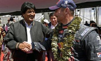 Lēbs neapturams - uzvar vēl vienā Dakaras rallija ātrumposmā
