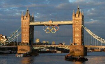 Ceļu uz Londonu sākuši pirmie Latvijas olimpieši