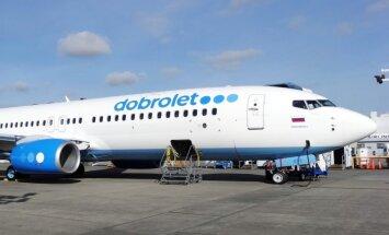 Sankciju ietekme: Krievijas lēto lidojumu aviokompānija spiesta atcelt reisus