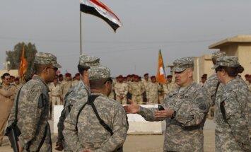 Bagdāde un Vašingtona apspriež iespēju paturēt ASV karavīrus Irākā pēc 'Daesh' sakaušanas