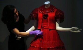 Londonā notikusi itāļu modei veltīta izstāde