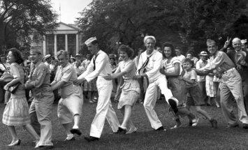 #Ziņas1945: Mīlas balādes un frontes dunoņa fonā. Otrā pasaules kara 'Billboard' mūzikas tops