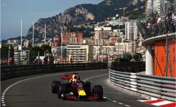 Monako 'Grand Prix': Montekarlo ielās sāk rēkt F-1 bolīdi. Teksta tiešraide