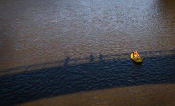 Pagaidām plūdu draudi Ogrē novērsti; pastāv bažas par situācijas saasināšanos pavasarī