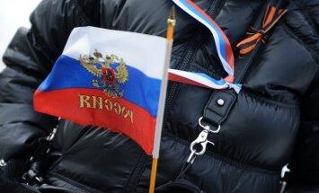 Kremļa galvenais propagandists Georgija lenti pasludina par Krievijas imperiālisma simbolu