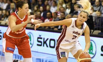 Latvijas sieviešu basketbola izlase pārbaudes mačā uzvar Čehiju