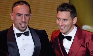 Franck Ribery, Lionel Messi