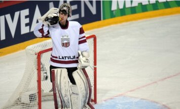 Latvijas 'eksperimentālā' izlase pārbaudes spēlē pagarinājumā piekāpjas Slovēnijai