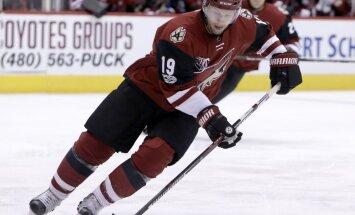 NHL kluba 'Coyotes' leģenda Douns paziņo par karjeras beigšanu