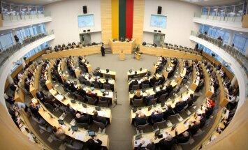 Seims ratificē līgumu par amerikāņu karavīru statusu Lietuvā