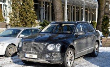 Sprūdam nav liegts pārvietoties ar krimināllietā arestēto automašīnu 'Bentley Bentayga'