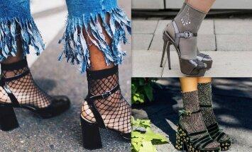 Zeķes sandalēs: kā šo stila grēku pārvērst fifīgā variācijā