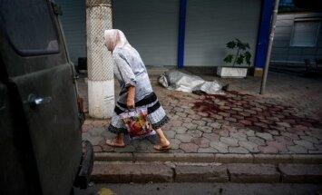 Doņeckā bada nāvē miruši 16 cilvēki