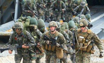 Южная Корея и США проведут самые крупные совместные учения