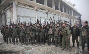 Krievija pastiprina militārās piegādes Sīrijai