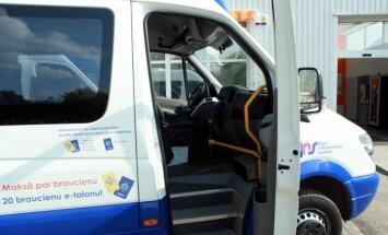 Верховный суд остановил закупку Rīgas satiksme услуг перевозки микроавтобусами