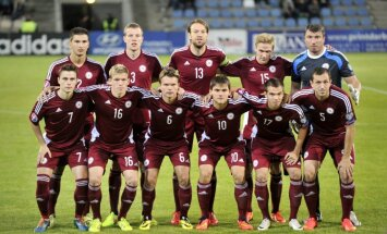 Сборная Латвии начинает поход за путевкой на ЕВРО-2016