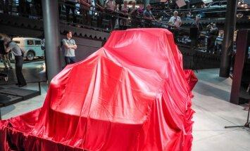 Kolekcionāru atradumu izstādē Motormuzejā varēs apskatīt vienīgo 'Aurea 600' modeli