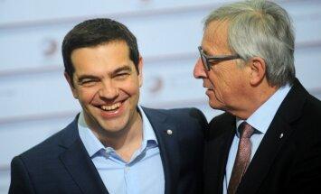 Junkers: EK ir sagatavojusi 'Grexit' scenāriju
