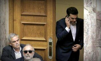 Grieķijas premjeram pirmdien paredzēta telefonsaruna ar Putinu