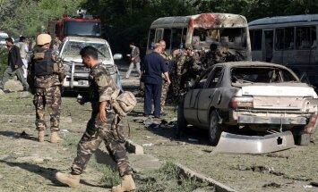 Netālu no ASV vēstniecības Kabulā atskanējis sprādziens; vismaz 16 bojāgajušie