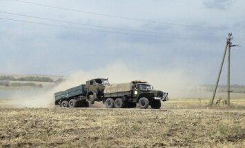 No Ukrainas uz Krieviju izved ogles un līķus, novēro EDSO