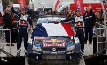 Četrkārtējais WRC čempions Ožjērs nākamasezon pārstāvēs 'M-Sport' komandu