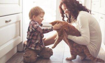 Pieci galvenie mīti par bērna alerģiju pret dzīvniekiem