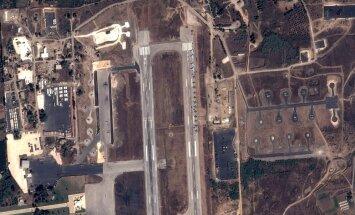 ФОТО: Опубликован первый снимок российского пилота на сирийской базе