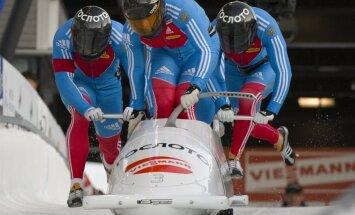 Zubkova ekipāža uzvar Pasaules kausa posmā bobslejā četriniekiem