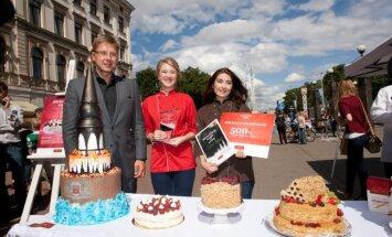 ФОТО: В Риге выбран лучший торт столицы
