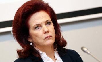 Аболтиня не хочет идти в президенты, ее фаворит - Артис Пабрикс