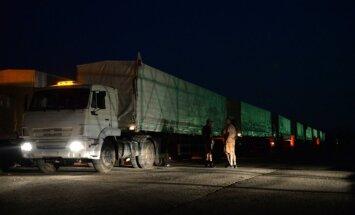 Krievija atklājusi, kas ir palīdzības konvojā; Sarkanais Krusts gaida detalizētāku informāciju
