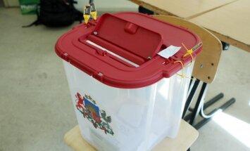 Pašvaldību vēlēšanām pieteikti 8883 kandidāti un 588 saraksti