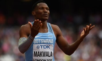 Skandāls ar vīrusiem: Botsvanas sprinteri no PČ stadiona nogādā karantīnā