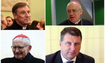Grēka sekas un iedrošināšana – garīdznieku un Latvijas prezidenta teiktais Aglonā