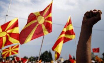 Serbija slēdz vēstniecību Maķedonijā 'agresīvas aktivitātes' dēļ