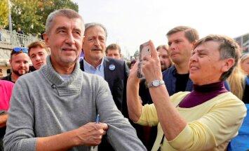 Čehija miljardiera vadībā draud pievienoties eiroskeptiķu pulciņam