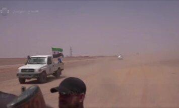 Sīrijas opozīcija ar ASV atbalstu šķeļ 'Daesh' Irākas un Sīrijas spēkus
