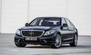 Par Krievijas Gada auto atzīta 'Mercedes' S-klase