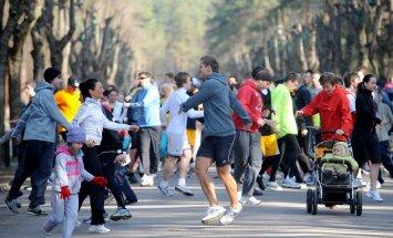'Lattelecom' Rīgas maratonā sākas svētdienu koptreniņi Mežaparkā