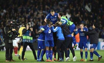 Lesteras 'City' turpina pārrakstīt kluba vēsturi un tiek UEFA Čempionu līgas ceturtdaļfinālā