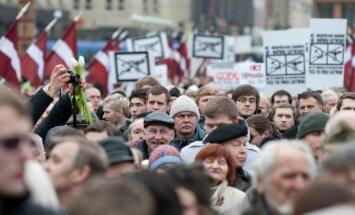 В Рижскую думу поступили заявки о шествии и пикетах, запланированных на 16 марта