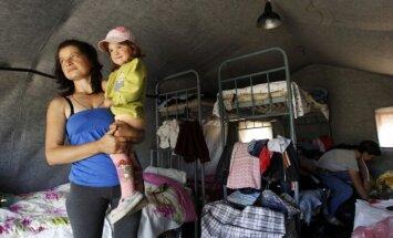 110 000 cilvēku no Ukrainas devušies bēgļu gaitās uz Krieviju, paziņo ANO