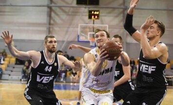 'VEF Rīga' basketbolisti Vienotās līgas mačā sagādā 'Parma' vienībai 20.zaudējumu 20 spēlēs