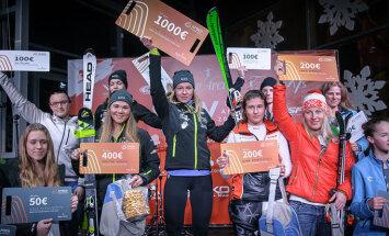 Latvijas izlases līderi uzvar paralēlajā slalomā Baltijas kausā