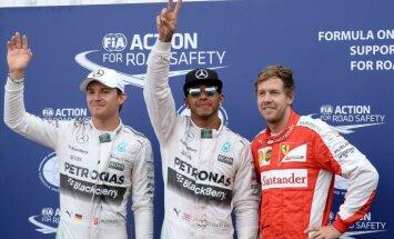 Eklstouns: Rosbergs un Fetels ir pārāk garlaicīgi manam F-1 biznesam