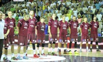 Basketbolisti Rīgā atklās Latvijas valstsvienības fanu zonu