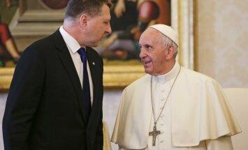 Пока не получено подтверждение визита папы римского Франциска в Латвию